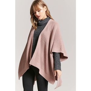 COPY - Forever 21 Lavender Open-Front Shawl Cardi…